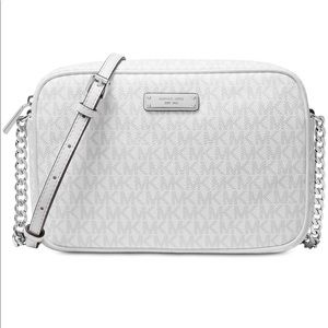 Micheal kors bright white crossbody and wallet